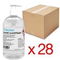 Hand Sanitiser 70% Alcohol Box of 25 250ml Bottles